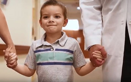 Northwestern Medicine Proton Center provides proton therapy for pediatric patients.