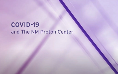 Northwestern Medicine Proton Center COVID-19 Message